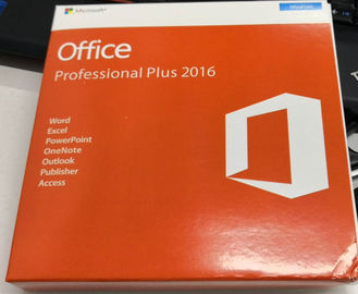 Pro Plus Office 2016 Retail Box Genuine Key Code With DVD / FPP New Key