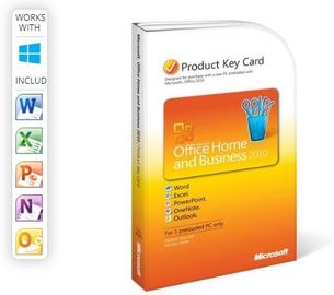 One User Office Home And Business 2010 License , Ms Office 2010 Product Key PKC Version