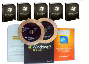China Edição final de Microsoft Windows 7, bloco final do OEM de Windows 7 para a área global distribuidor