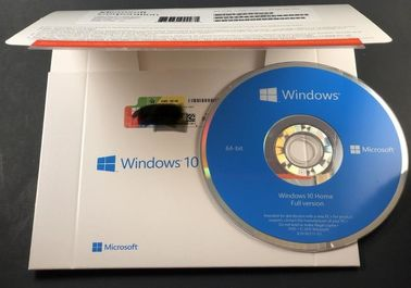 China Microsoft genuíno Win10 dirige o sistema de software do computador doméstico das janelas 10 da etiqueta DVD do coa do pacote do OEM de 32bit 64bit distribuidor